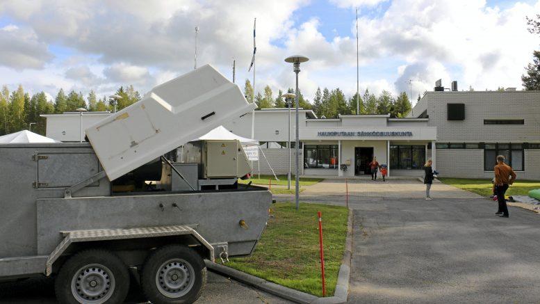 Martinniementiellä sijaitsevassa Haukiputaan Sähköosuuskunnan toimipisteessä vietettiin 100-vuotisjuhlia toissa vuonna.