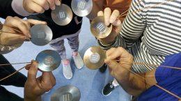 Ylikiimingin naislentopalloilijoilla oli tuomisinaan komeat mitalit Rovaniemen turnauksesta.