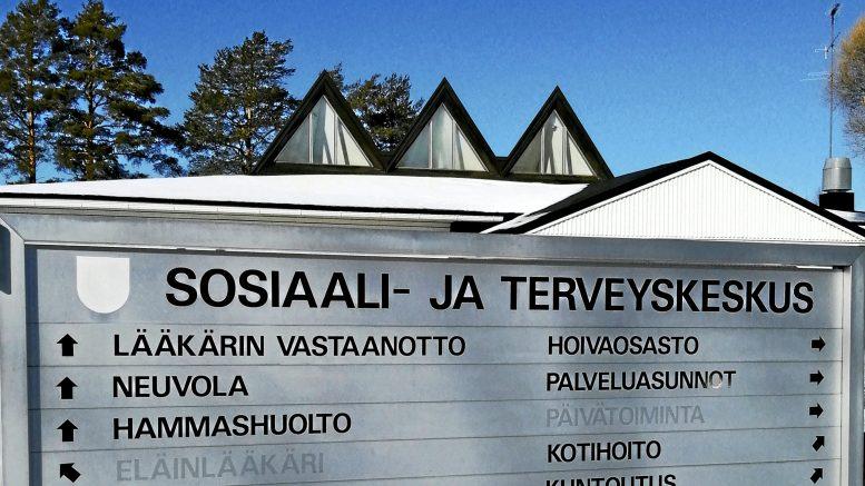 Kuivaniemen terveysaseman sulkua on jatkettu 22.11. saakka.