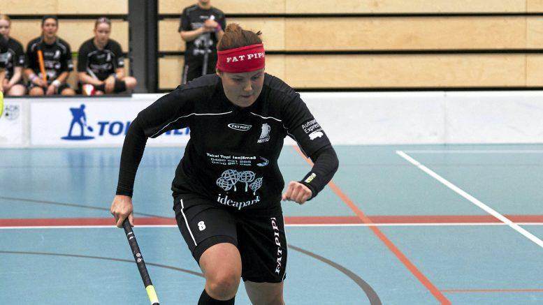 Viime kauden naisten 2. divisioonan Pohjois-Suomen lohkon pistepörssin voittaja oli Haukiputaan Heiton Marianne Pohjonen. Kuva: Tero Siivola