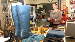 Kuivaniemen Sievi Shopeista tuttu Hanne Linnatie jatkaa työntekijänä myös Sievi Store Nelosparkissa.