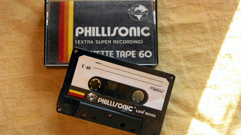 C-kasetti on yhä toimiva tallennusväline.