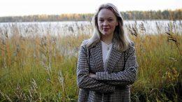 Eveliina Leskelän vaikuttaminen lähti oman arjen tarpeista ja se on kantanut jo pitkälle. Kuva: Aada Koivisto.