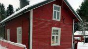 Jaakko Liedeksen rakentama kotitalo Iin keskustassa.