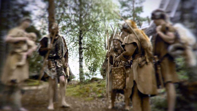Kierikin väki pääsi viime kesänä osallistumaan Evijärven kunnan tilaamaan dokumenttifilmiin. (Kuva: Järviseudun ensimmäiset talonpojat –video)