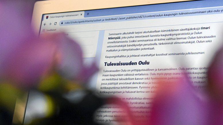 Oulun kaupunginhallituksen ja johtavien viranhaltijoiden koostaman julkilausuman voi lukea Oulun kaupungin verkkosivuilta. Myös tiedotustilaisuus, jossa julkilausuma esiteltiin, on nähtävissä Oulun kaupungin YouTube-kanavalla.