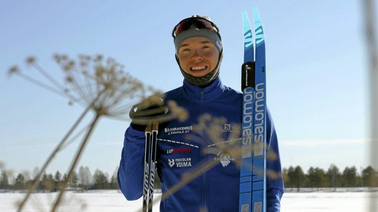 Oskari Hökkä yllättyi itsekin iloisesti hienosta suorituksestaan SM-kisoissa miesten viidelläkympillä.