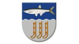 Uusi Ylikiiminki-Muhos-vaakuna on tekijöidensä mukaan heraldinen unelma.