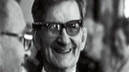 Evald Kallas 80-vuotispäivänään.