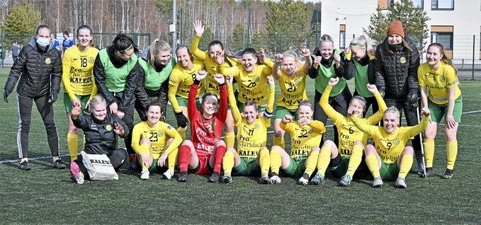 HauPan naisten ykkösjoukkue aloitti kotipelit voitolla.