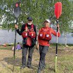 Jussi Riihinen ja Raija Erkkilä ovat Kiiminkijokimelonnan konkareita, jotka ovat olleet osallisena aivan alusta alkaen.