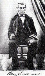 Benjamin Snellman oli jämäkkä ja nuuka lukkari Haukiputaalla. Hänen hautansa on Haukiputaan vanhalla hautausmaalla.