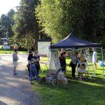 Elokuun puolessa välissä Oulu täyttyy lähes yhtä aikaa monenmoisilla tapahtumilla. Taiteiden yössä 12.8. soi musiikki ja taiteilijat esittelivät teoksiaan kymmenissä eri tilaisuuksissa.