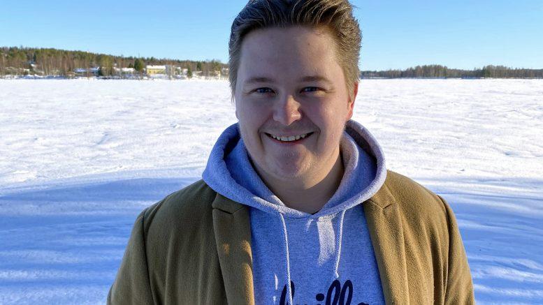 Jäälistä kotiisin olevaa Jere Tapiota esitetään Keskustanuorten puheenjohtajaksi. Kuva: Pohjois-Pohjanmaan Keskustanuoret