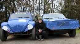 Heikki Salo on ollut kiinnostunut jokkisautoista pienestä pitäen. Nyt hän pääsee jo kilpailemaan jokkisradoille.