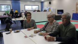 Pirkko Karjalainen sekä Eevi ja Heino Pernu olivat tyytyväisiä, että viimein pystytään järjestämään tapahtumia.