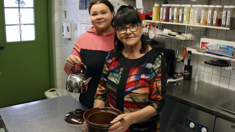 Patarouva on äidin ja tyttären, Irma Pietilän ja Kaisa Pietilän yhteinen pitopalveluyritys.