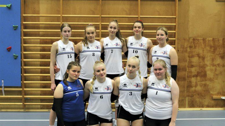 Joukkueen seuraava peli on tulevana sunnuntaina Haukiputaan lukiolla WoVo akatemiaa vastaan. (Kuva: Anu Kauppila)